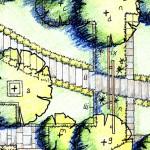 Garden Plan Chertsey