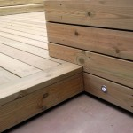 Teddington decking detail